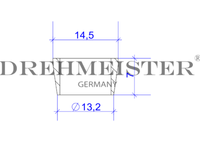 DREHMEISTER Schneidring für Flexleitung 8mm
