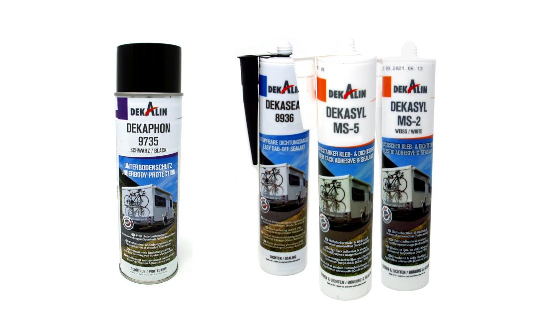 Sigillante, adesivo e come protezione del sottoscocca, il Dekalin è ora disponibile