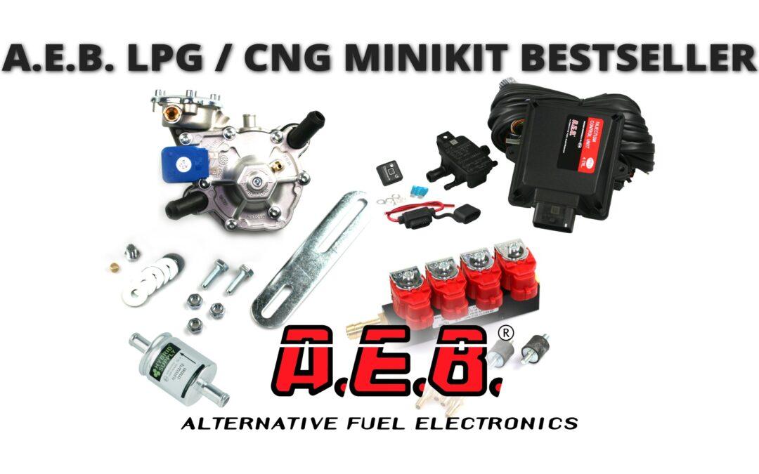 Mini kit per GPL/Metano,  il best-seller della ditta A.E.B.