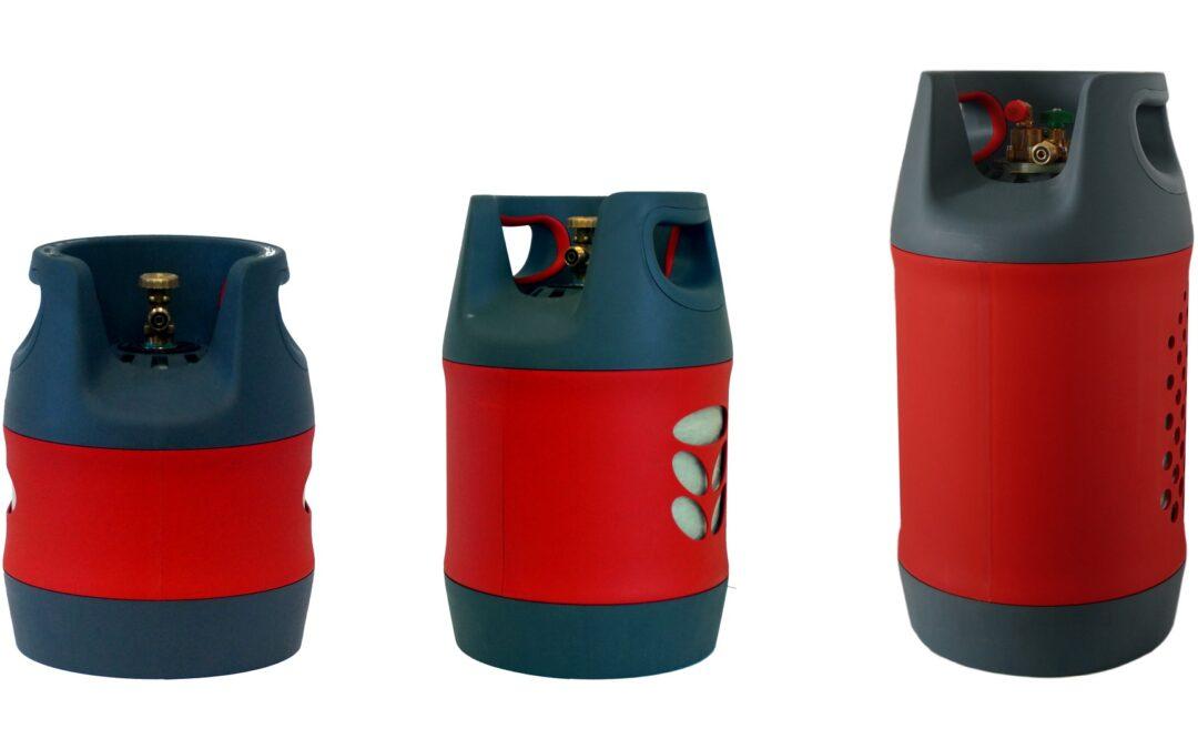 Le bombole di gas in materiale composito con TÜV fino al 2030 – Sono disponibili già da adesso-