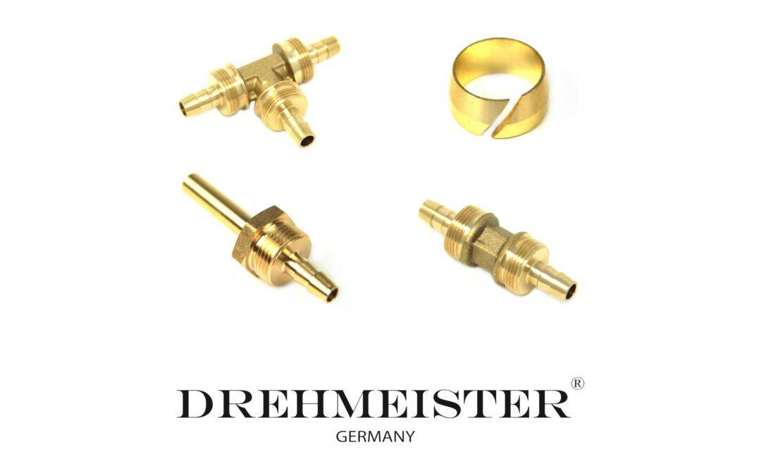 Raccordi per cavo termoplastico della ditta DREHMEISTER