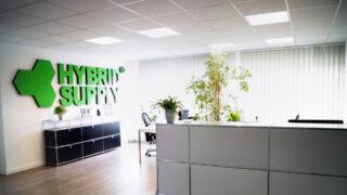 L'accoglienza all'ufficio dell'azienda HybridSupply avviene nella  Stellmacherstraße 9, DE-23556 Lübeck