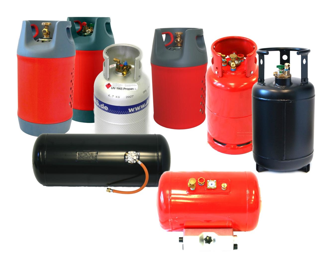 Bombole  e serbatoi di gas