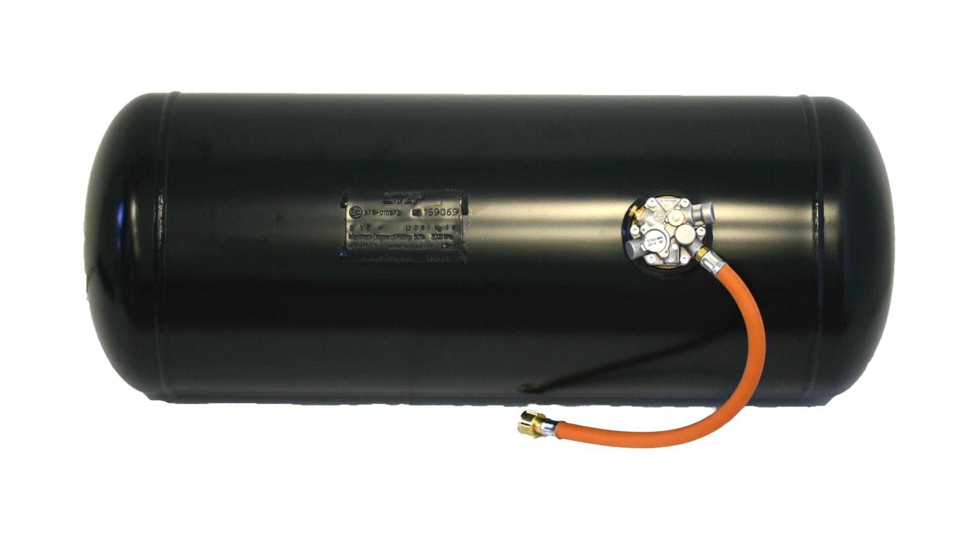 Multiventil-Brenngas-Zylindertank
