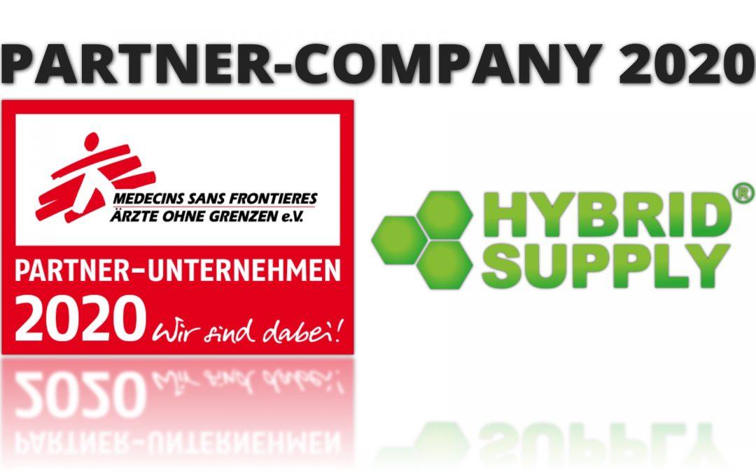 Aziende-partner 2020! Sosteniamo il lavoro di Ärzte ohne Grenzen (Medici Senza Frontiere associazione onlus).