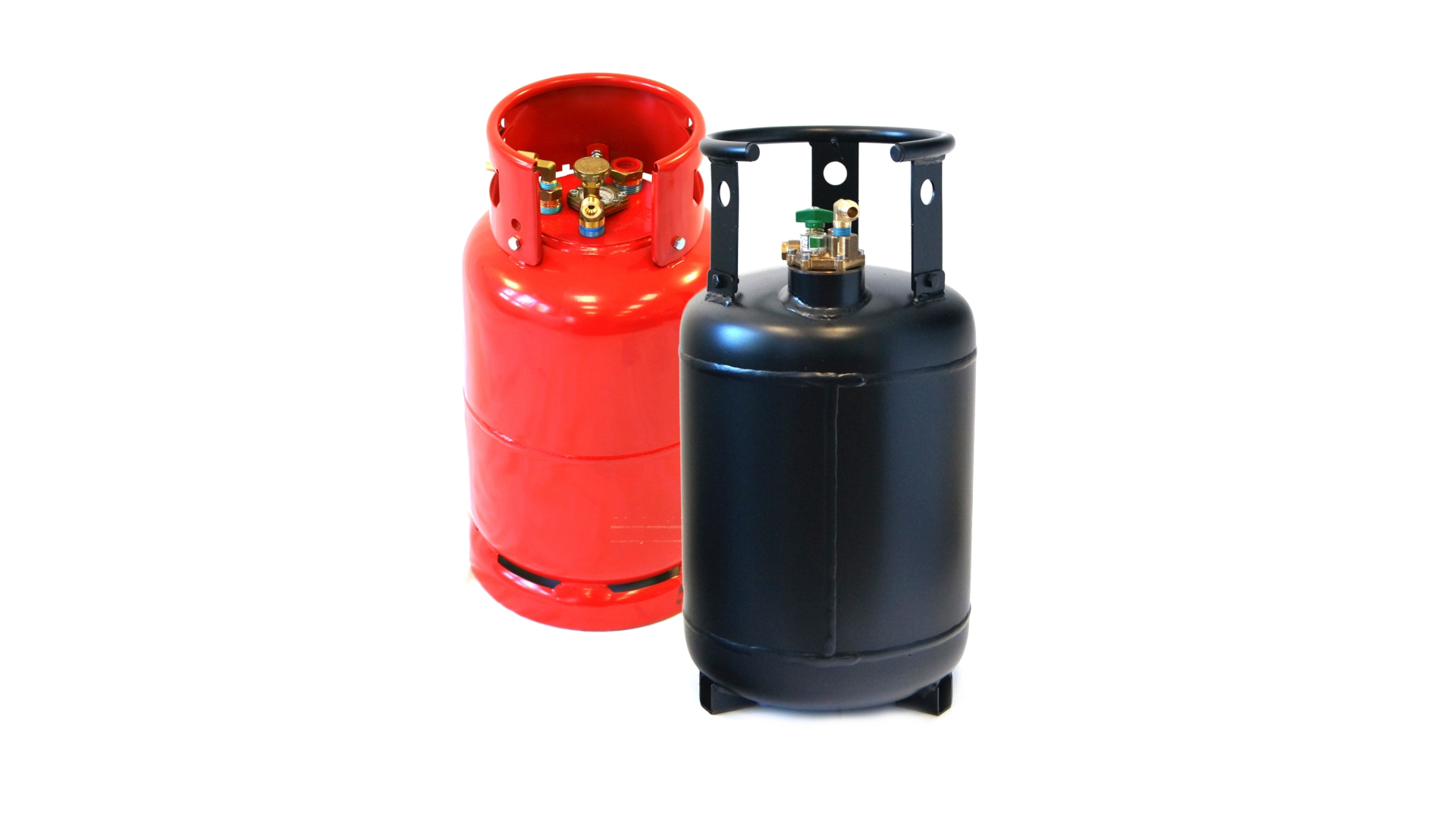 Stahlgasflaschen