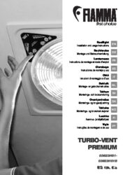Manuale d'installazione- e istruzioni per il  TURBO VENT PREMIUM