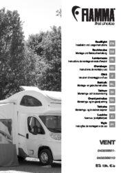 Manuale di installazione- e istruzioni dell'Oblò VENT