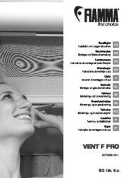 Manuale-e istruzioni per l'installazione dell' Obló VENT F PRO