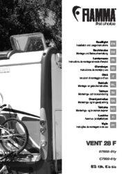 Manuale di installazione- e istruzioni del VENT 28 F