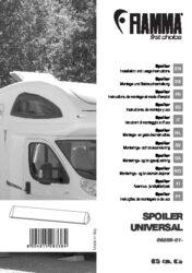 Montaggio- e istruzioni manuale per lo Spoiler universale