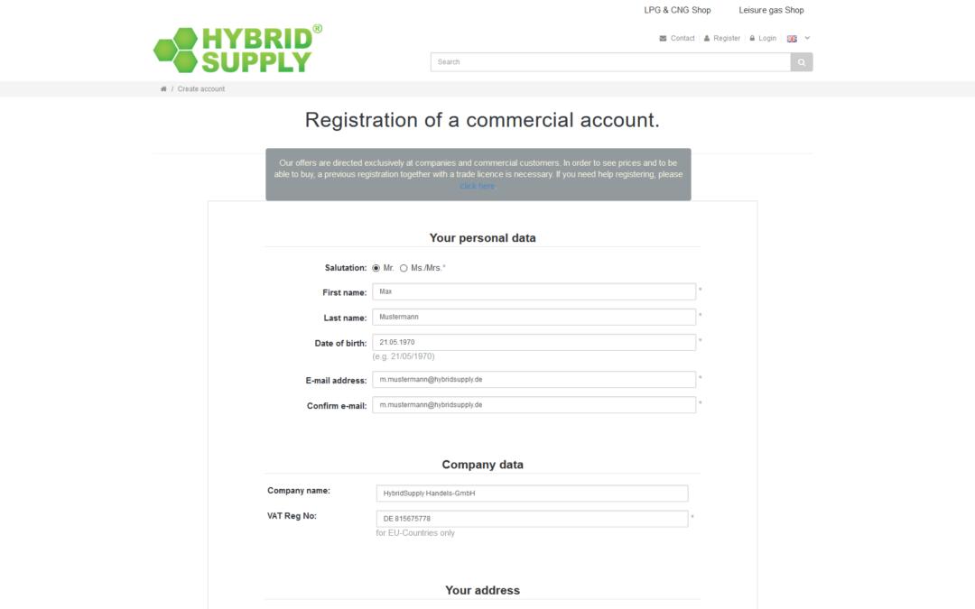 Guida video: Creazione di un conto per clienti commerciali