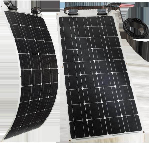TELECO TSPF 110W – Il modulo solare flessibile per caravan, roulotte e camper